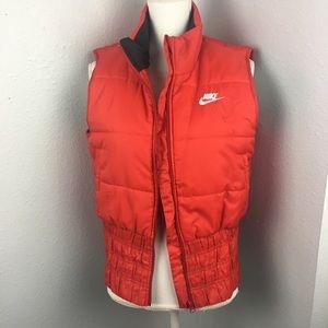 Nike Retro Red Logo Puffy Vest